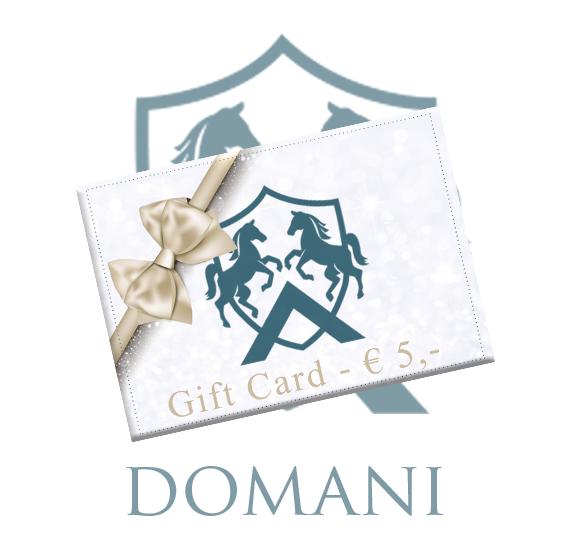 "Giftcard ""5 euro"""