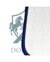 "Saddle Pad - Jumping ""White/Royal blue"""